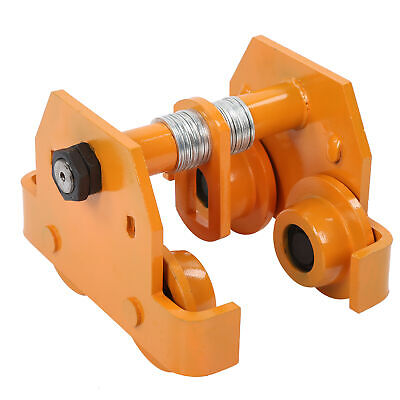 £78.33 • Buy Push Beam Trolley Roller For Elevated Garage Hoist I‑Beam Track Parts 2T