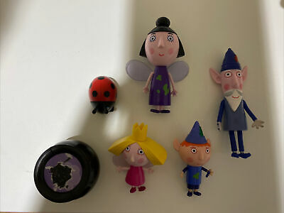 £12 • Buy Ben And Holly Figures Bundle Nanny Plum Wise Old Elf Gaston Cake Toppers