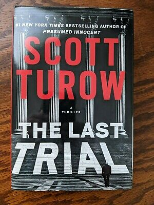 AU1.35 • Buy 💎 The Last Trial By Scott Turow (2020) Kindle County #11 Used Hardcover Book 💎