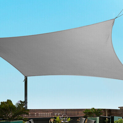 AU123.90 • Buy Instahut Sun Shade Sail Cloth Shadecloth Outdoor Canopy Square 280gsm 6x6m