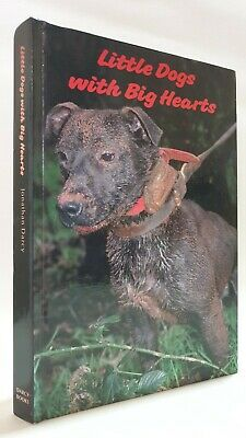 £105 • Buy SIGNED Little Dogs With Big Hearts Jonathan Darcy Working Terriers Book Digging