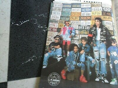 £2.35 • Buy MICHAEL JACKSON  Full Page Magazine  AD   SHOES  L.A.GEAR