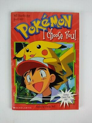 $5.99 • Buy Pokemon - I Choose You! Chapter Book (1998, 87 Pages) Paperback By Scholastic