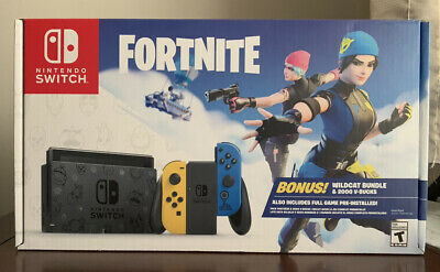 $500 • Buy New Nintendo Switch Fortnite Special Edition - Wildcat Bundle! Code Included!