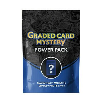 $39.95 • Buy  Pokemon Graded Card Mystery Collection Pack - 1 Graded Card Per Box Plus More!