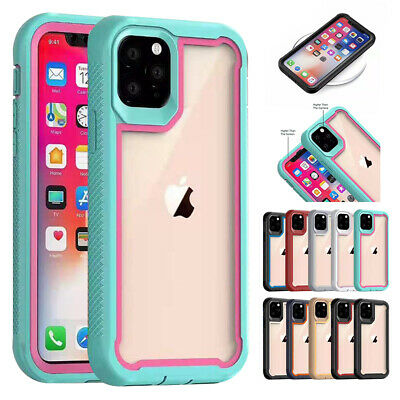 AU11.99 • Buy For IPhone 13 Pro Max 12 11 XS XR 8 7 Case Shockproof Hybrid Bumper Clear Cover