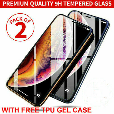 £3.99 • Buy Gorilla Tempered Glass Screen Protector For New IPhone 11 12 Pro X XR XS  Cover