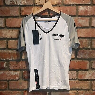 £9.99 • Buy NEW WITH TAGS McLaren F1 Jenson Button T-shirt Women's Size S