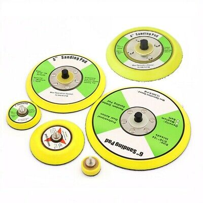 £3.96 • Buy Backing Pad Plate Hook And Loop Polisher Sanding Disc Backing Pad 1/2/3/4/5/6in