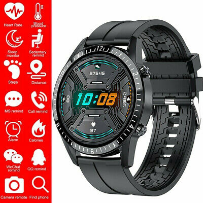 AU43.89 • Buy Smart Watch Bluetooth Heart Rate Blood Pressure Calls Music For IOS Android New
