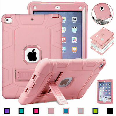 AU30.49 • Buy For IPad 6th 2/3Generation Mini 5 4 3 2 1 Kids Safe Shockproof Rubber Stand Case