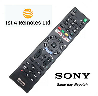 £6.79 • Buy Sony Rmt-tx300e Replacement Remote Control Bravia 3d Tv Netflix Youtube Buttons
