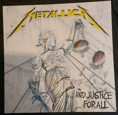 £18.99 • Buy Metallica And Justice For All Canvas Album Cover Picture Art 16 X16  VGC