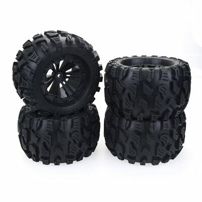 £26.99 • Buy 1/10 RC Car Monster Truck Wheels Tires For HPI HSP Savage XS TM Flux ZD Racing