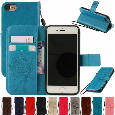 AU6.88 • Buy Leather Wallet Case Card Holder Folding Cover For IPhone 6S 7 8 Plus XR XS MAX X