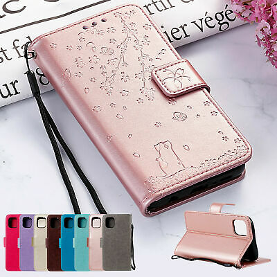 AU5.99 • Buy For IPhone 13 11 XR XS Max 6S 7 8 Phone Case Magnetic Leather Flip Wallet Cover