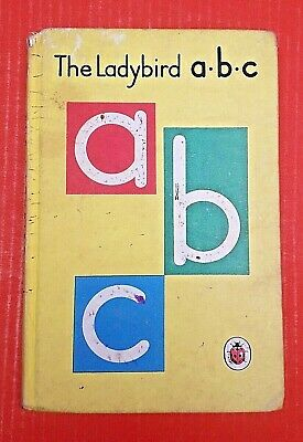 £5 • Buy The Ladybird A B C Book 1962. Illustrations By Robinson. Series 622. FREE POST.