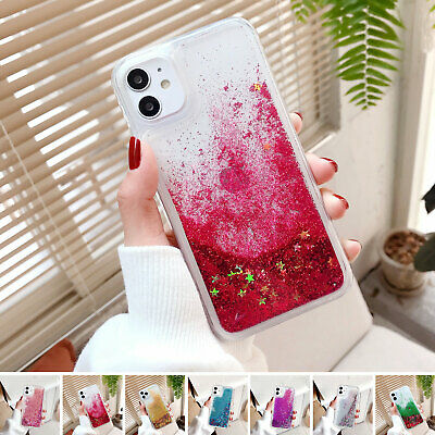 AU8.03 • Buy Bling Giltter Qickstand Case For Samsung Galaxy S9 S8 S7 Note8 Note9 Clear Cover