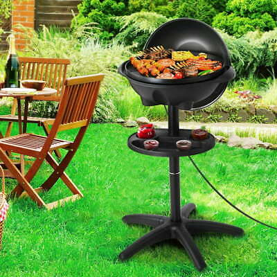 AU114.90 • Buy Grillz Electric BBQ Grill Smoker Outdoor Kitchen Kettle Portable Non Stick Oven