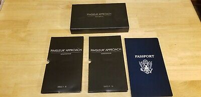 £17.04 • Buy Pimsleur Approach Gold Edition Spanish I Discs 1-16 CDs 30 Lessons Nice Disks