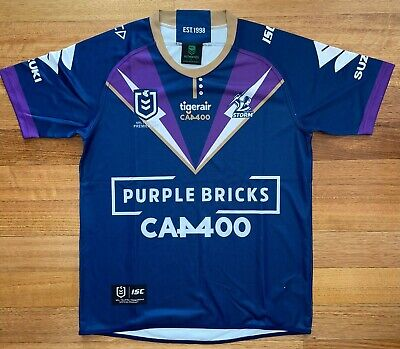 AU203 • Buy Cameron Smith Signed 2020 Melbourne Storm Rugby League Jersey – *100% Authentic*