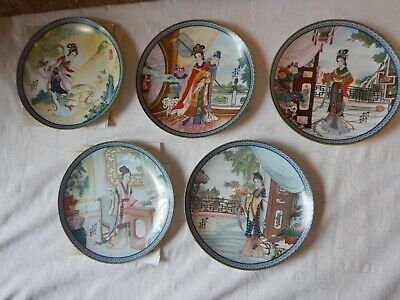 £34.99 • Buy 5 Imperial Jingdezhen Porcelain Beauties Of The Red Mansion Collector Plates