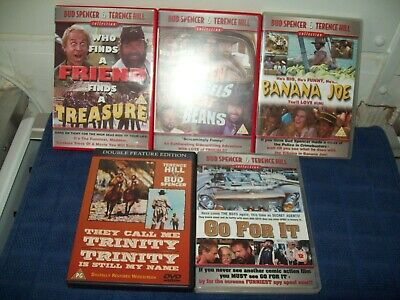 £20 • Buy JOB LOT BUD SPENCER & TERENCE HILL COLLECTION Spaghetti Western 6 MOVIES RATEDPG