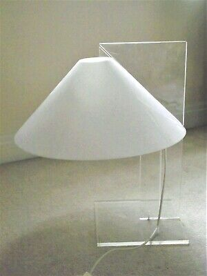 £275 • Buy Rare 1970s Lucite Table Lamp By Harco Loor, Haarlem, Netherlands