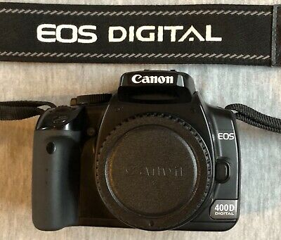 £60 • Buy Canon EOS 400D DSLR Camera - Body Only. Generally Good Condition But Some Wear.