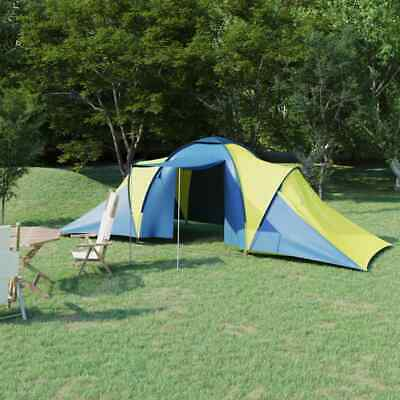 £124.66 • Buy Camping Tent 6 Persons Blue And Yellow