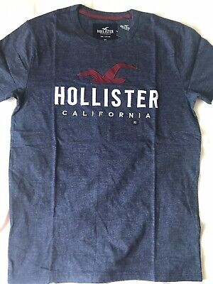 £10 • Buy Boys Hollister Blue T-shirt Size XS (can Fit From 13 Or 14 Years Old)