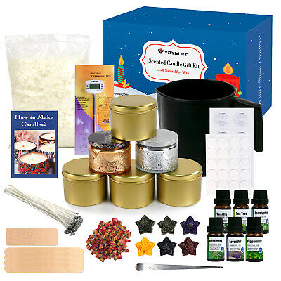 £49.99 • Buy YRYM HT Candle Making Kit For Adult - Easy To Make Candle Soy Wax Gift Craft Set