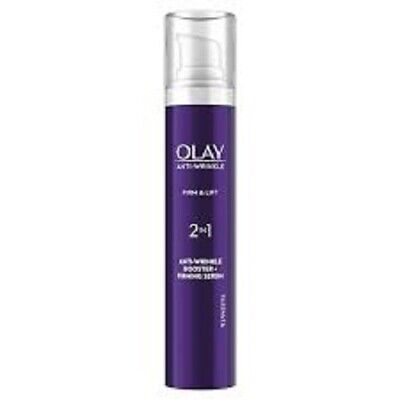 £9.45 • Buy Olay Anti-wrinkle Firm & Lift 2 In 1 Booster And Firming Serum 50ml
