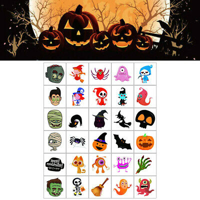 £2.57 • Buy Temporary Tattoos Halloween Fake Tattoo For Kids 30 Sheets Water Transfer Paper