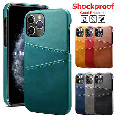 AU12.49 • Buy For IPhone 12 11 Pro Max XS XR 8 7+ Leather Case Wallet Card Holder Case Cover