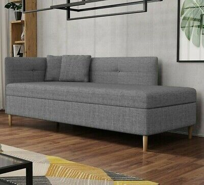 £275 • Buy Sofa Bed With Storage Fabric Modern Comfortable New OLIMP