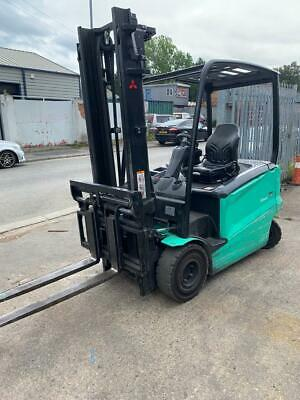 £12250 • Buy FORKLIFT TRUCK, Mitsubishi Electric Forklift Truck 2500 Kgs Capacity