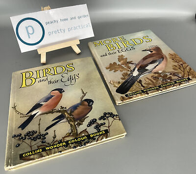 £15 • Buy Birds And More Birds And Their Eggs David Stephen 1st Edition Rare Books 1958 61