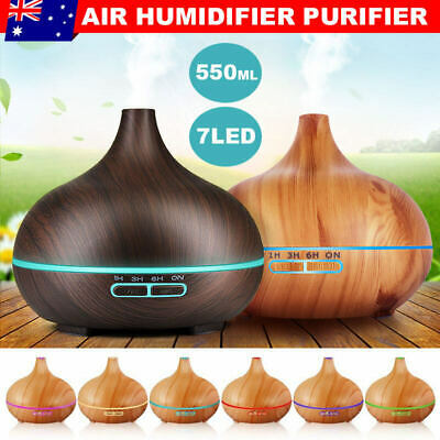 AU26.85 • Buy Oil Diffuser Essential Oils Aromatherapy Air Humidifier Purifier Relax Defuser