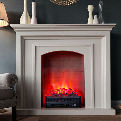 £119.95 • Buy Burning Remote Control Electric Fireplace Insert Log Heater LED Flame Fire Stove