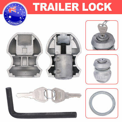 AU18.48 • Buy For Security Trailer Coupling Hitch Lock Part Tow Ball Caravan Hitchlock Tool AU