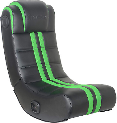 AU224.36 • Buy X Rocker 2.0 Bluetooth Gaming Chair With Headset Mounted Speakers Green/Black