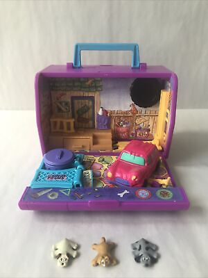 £18 • Buy Pound Puppies Purries City Pound Backyard Playset Pet Carrier & 3 Figures Read