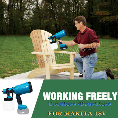 £46.70 • Buy For Makita Cordless Paint-Sprayer-Spray Gun Airless 550W Home/Outdoor Wall Fence