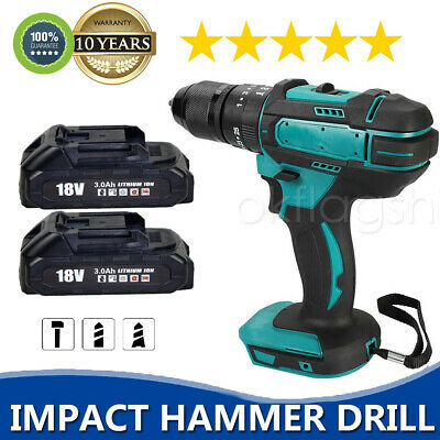 £38.50 • Buy Replace For Makita 18V 13mm Cordless Hammer Impact Drill Electric Screwdriver