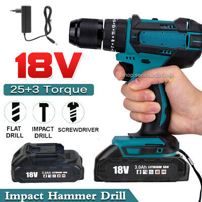 £53.30 • Buy Impact Electric Power Drill Screwdriver Electric Screwdriver Replace For Makita
