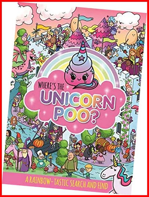 £4.37 • Buy Where's The Unicorn Poo? A Search And Find Search & Find