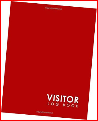 £6.69 • Buy Visitor Log Book Guest Book Visitor Sign In Book Visitor Logbook Visitors In