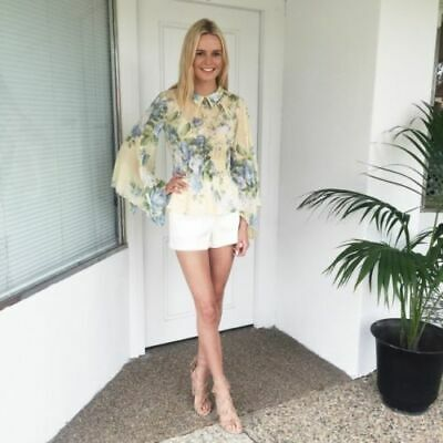 AU115 • Buy ALICE MCCALL  Love On Top  Pretty Floral Print Blouse Shirt Top 10