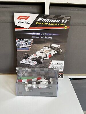 £18.99 • Buy Panini F1 Collection  BAR 002 -2000 . Jacques Villeneuve 1:43. New & Sealed.